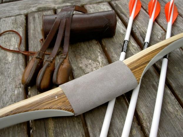 Custom Langbogen von Howard Hill Archery, gebaut von Craig T. Ekin, Hamilton, Montana